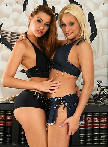 image Fist flush hard fisting action from two hot french chicks