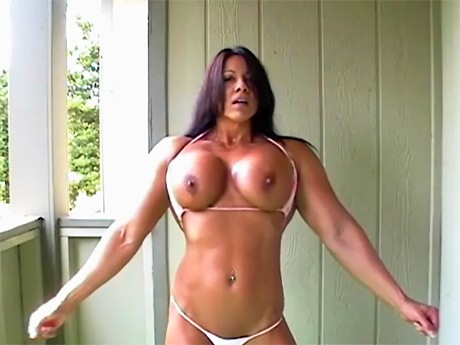 muscle woman fuck man