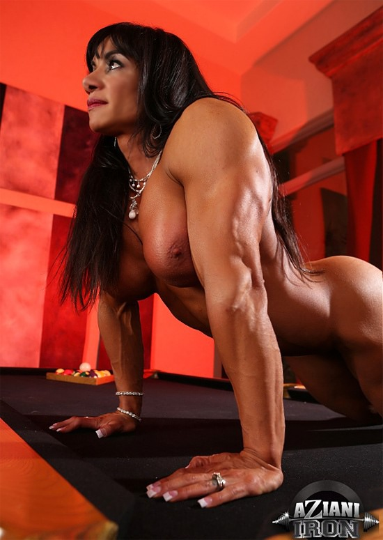 Curious.. erotic female bodybuilders clip