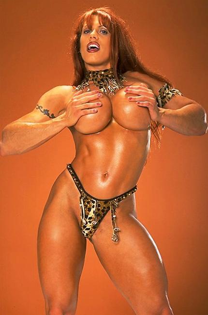 Wrestler april hunter nude — photo 1